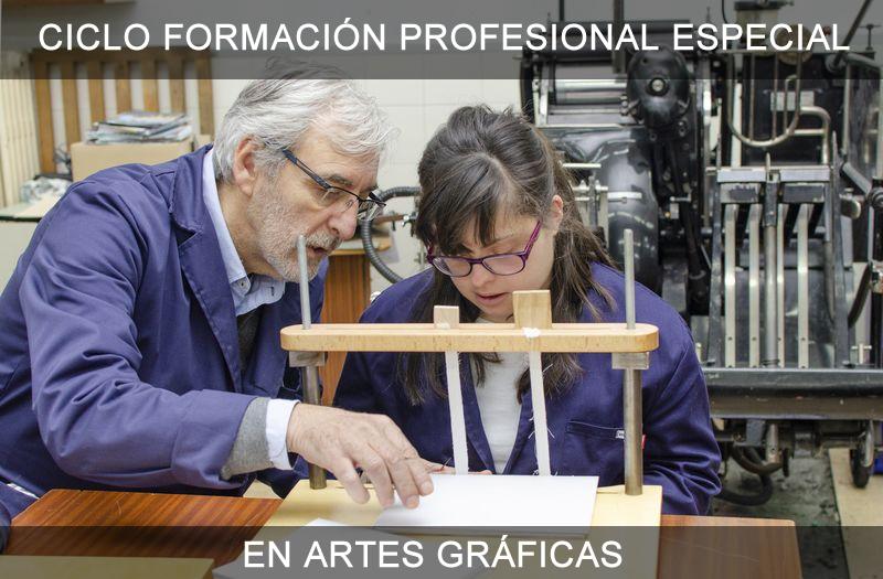 Formación Profesional Especial En Artes Gráficas Cfpe