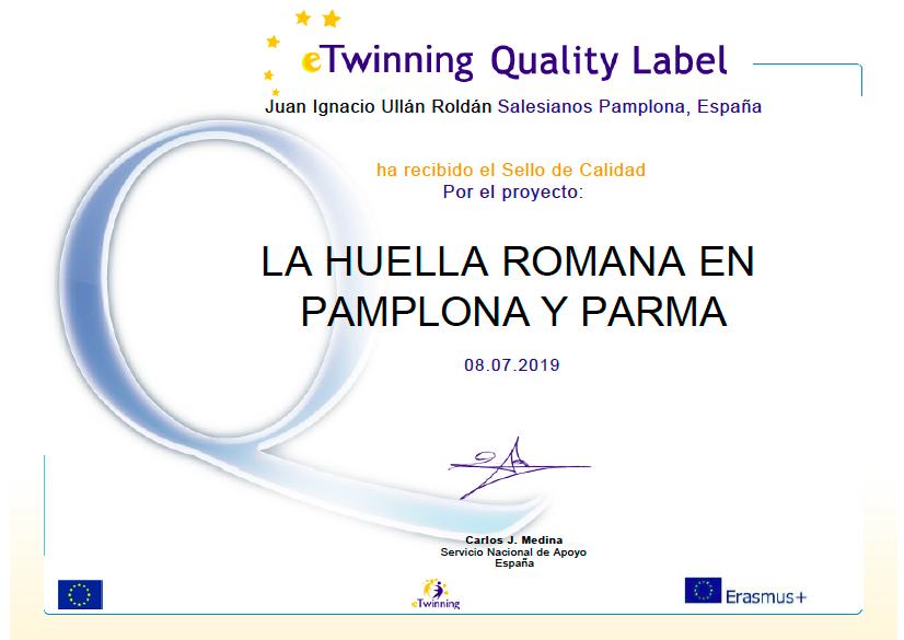 Sello de Calidad e-Twinnig España