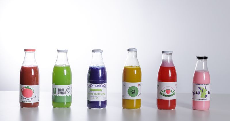 Proyecto impresión. Etiquetas para zumos