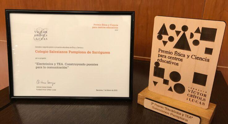 Electrónica y TEA: 2º premio de la Fundació Víctor Grifols i Lucas