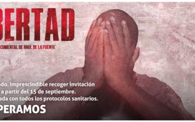 """Presentación del Documental LIBERTAD:""""Con dos euros sacamos a un menor de prisión"""""""