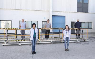 Volkswagen Navarra dona 2 plataformas elevadoras